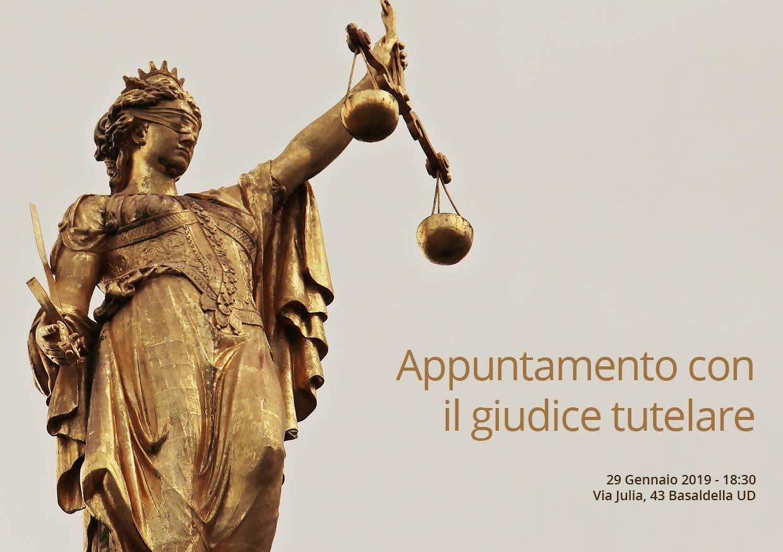 Appuntamento con il giudice tutelare